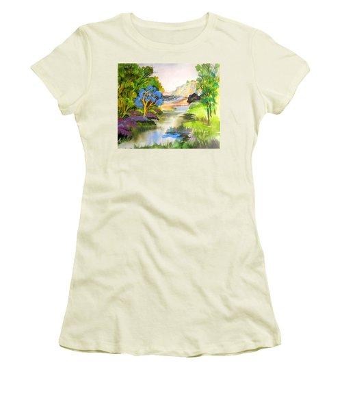 Redwood Creek  Women's T-Shirt (Athletic Fit)