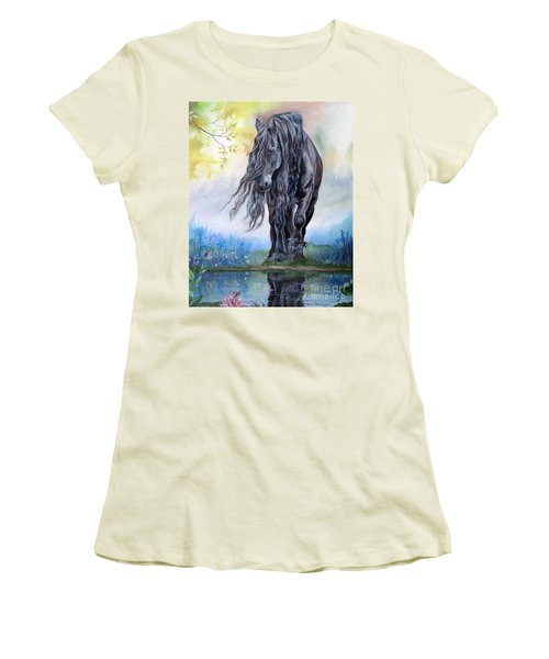 Reflective Beauty Women's T-Shirt (Athletic Fit)