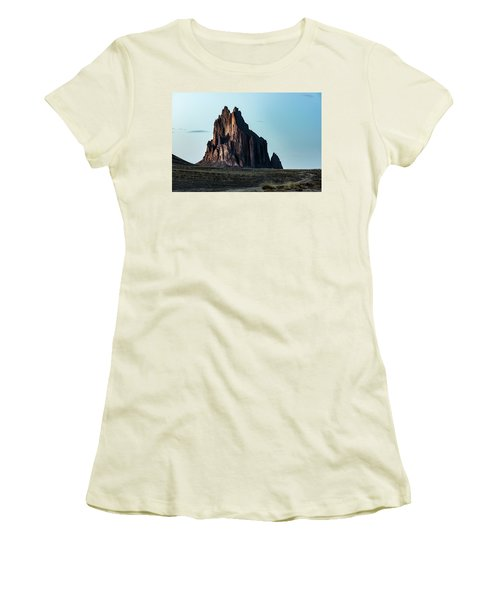 Remote Yet Imposing Women's T-Shirt (Athletic Fit)