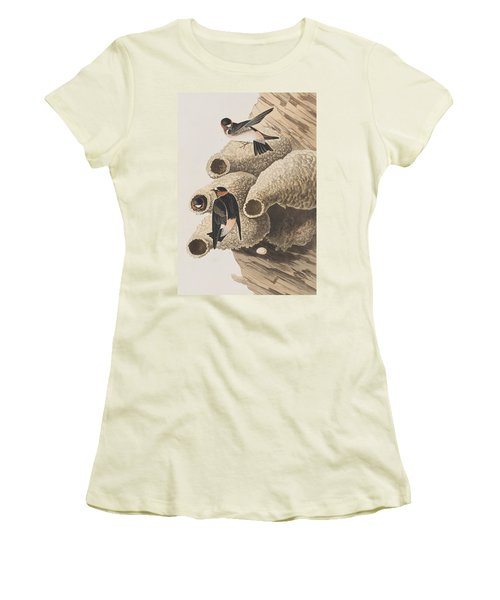 Republican Or Cliff Swallow Women's T-Shirt (Athletic Fit)