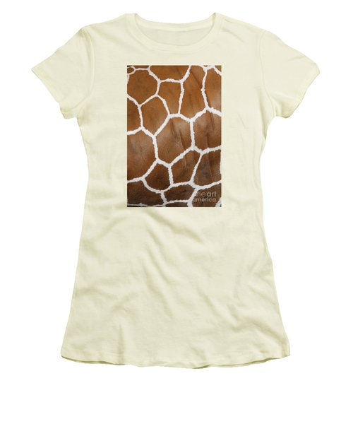 Reticulated Giraffe #2 Women's T-Shirt (Athletic Fit)
