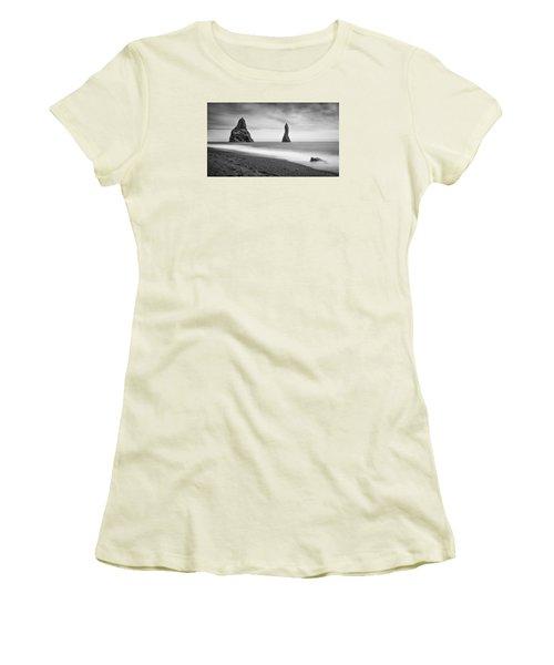 Reynisfjara  Women's T-Shirt (Junior Cut) by Brad Grove