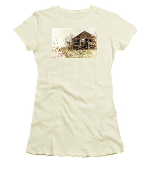 Rickety Shack Women's T-Shirt (Junior Cut) by Pamela Williams