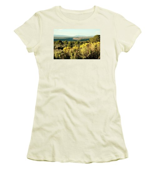 Women's T-Shirt (Junior Cut) featuring the photograph Rio Grande Gorge by Jim Arnold