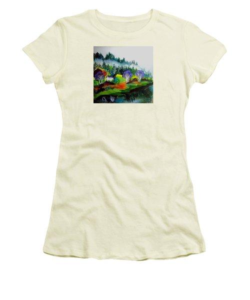 Monte Rio Russian River Women's T-Shirt (Athletic Fit)