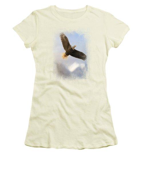Rise Above Women's T-Shirt (Junior Cut) by Jai Johnson