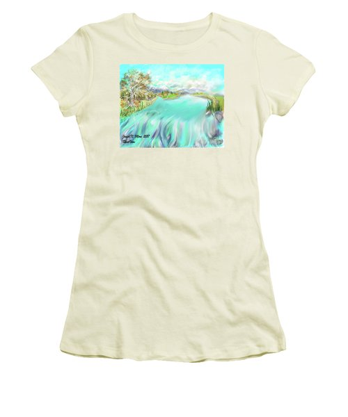 River View Women's T-Shirt (Athletic Fit)