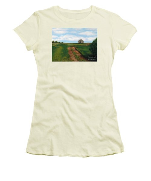 Road To The Past Women's T-Shirt (Athletic Fit)