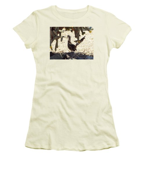 Roadrunners Shade-time Women's T-Shirt (Athletic Fit)
