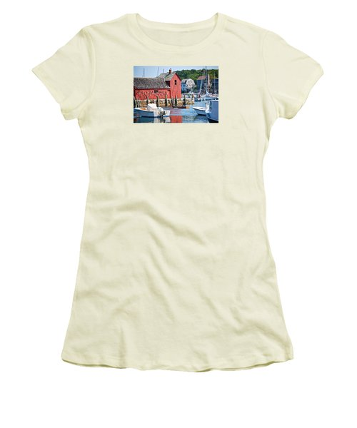 Rockport Motif 1 Women's T-Shirt (Athletic Fit)