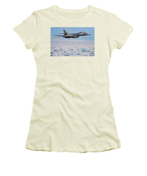 Rockwell B1 Lancer Women's T-Shirt (Athletic Fit)