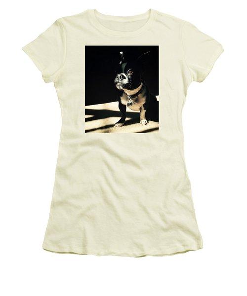 Rocky Women's T-Shirt (Junior Cut) by Sharon Jones