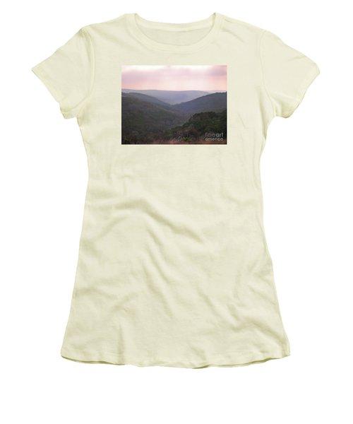Women's T-Shirt (Junior Cut) featuring the photograph Rolling Hill Country by Felipe Adan Lerma