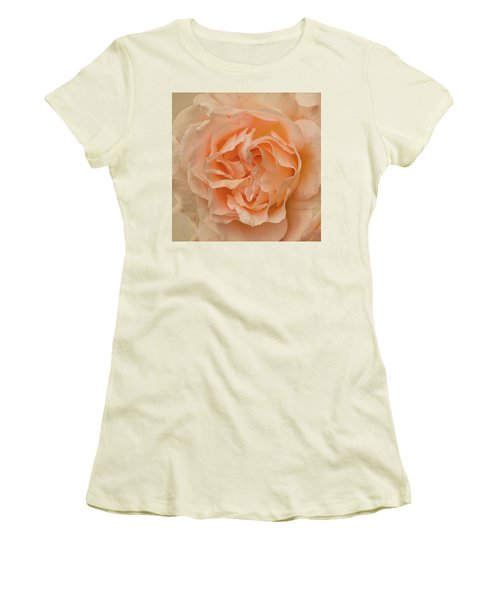 Romantic Rose Women's T-Shirt (Junior Cut) by Jacqi Elmslie