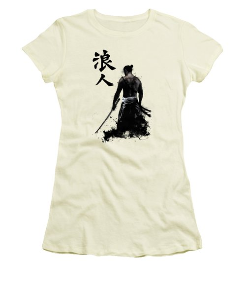 Ronin Women's T-Shirt (Junior Cut) by Nicklas Gustafsson