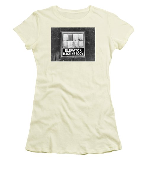 Women's T-Shirt (Junior Cut) featuring the photograph Room by Robert Geary