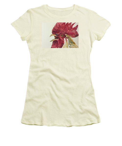 Rooster Women's T-Shirt (Athletic Fit)