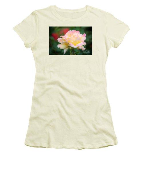 Rose Beauty Women's T-Shirt (Athletic Fit)