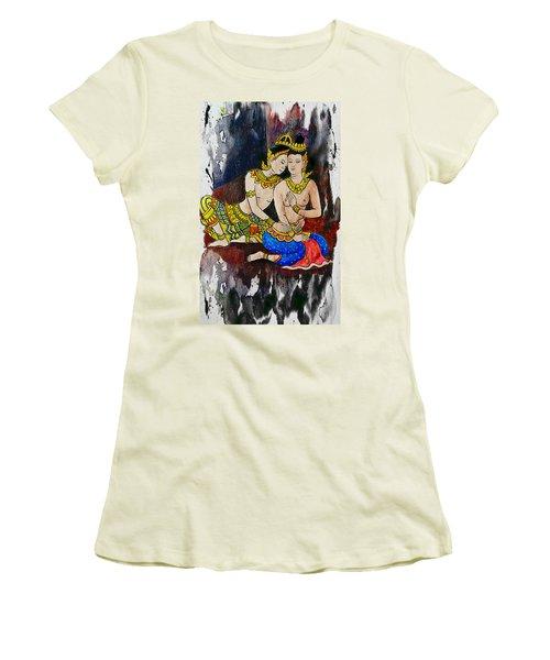 Royal Lovers Of Siam  Women's T-Shirt (Junior Cut) by Ian Gledhill
