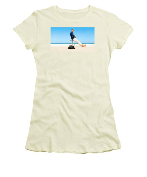 Royal Pains Women's T-Shirt (Athletic Fit)