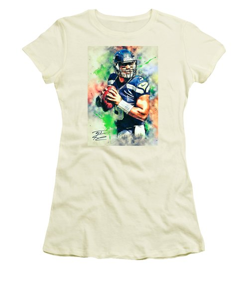 Russell Wilson Women's T-Shirt (Athletic Fit)