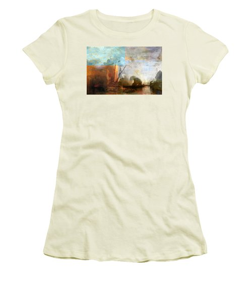 Rustic I Turner Women's T-Shirt (Junior Cut) by David Bridburg