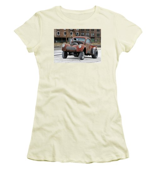 Rusty Gasser Women's T-Shirt (Junior Cut) by Christopher McKenzie