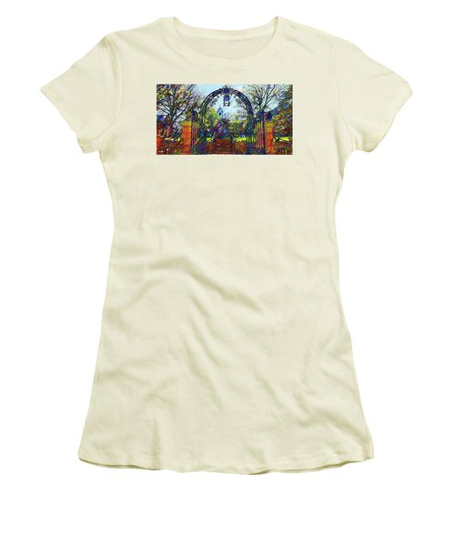 Rutgers University Women's T-Shirt (Athletic Fit)