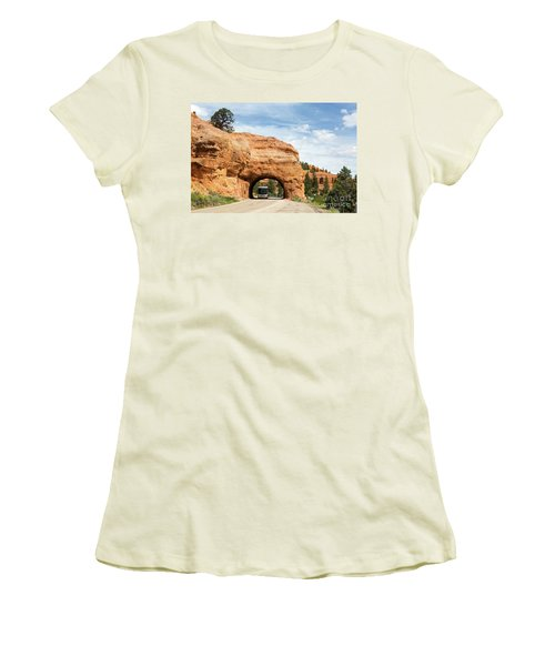 Rv Red Canyon Tunnel Utah Women's T-Shirt (Athletic Fit)