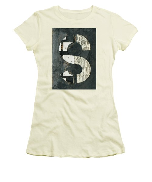 The Letter S Women's T-Shirt (Athletic Fit)