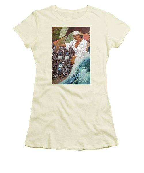 Sabanas Blancas Women's T-Shirt (Athletic Fit)
