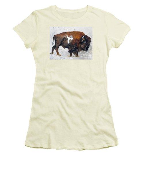 Sacred Gift Women's T-Shirt (Junior Cut) by J W Baker