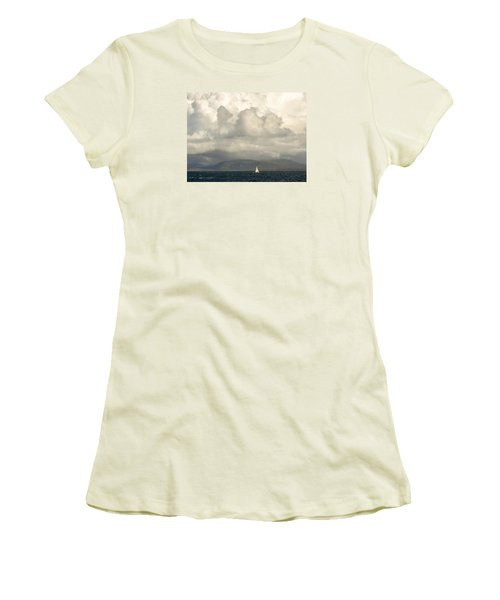 Sailing Scottish Seas Women's T-Shirt (Athletic Fit)