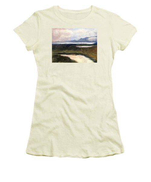 Salton Sea Women's T-Shirt (Athletic Fit)