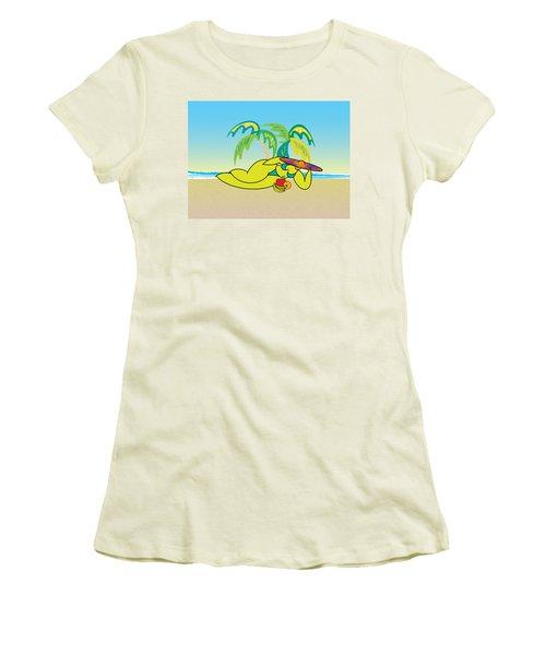 Samantha Women's T-Shirt (Junior Cut) by Steve Ellis