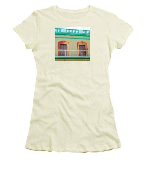 San Jose Del Cabo Doors 11 Women's T-Shirt (Junior Cut) by Randall Weidner