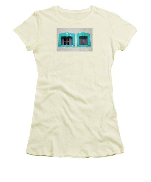 San Jose Del Cabo Windows 13 Women's T-Shirt (Junior Cut) by Randall Weidner