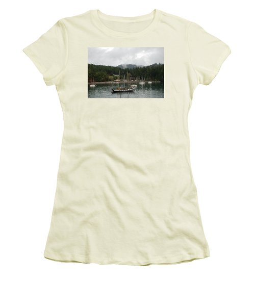 San Juan - Orcas Island  Women's T-Shirt (Athletic Fit)