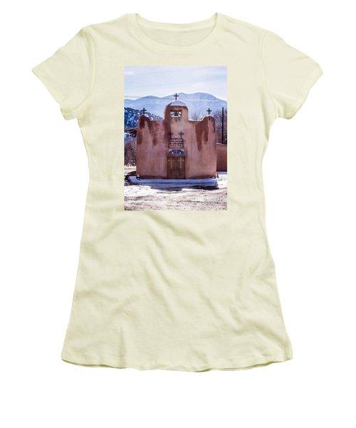 San Juan De Los Logos Women's T-Shirt (Athletic Fit)