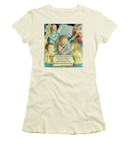 Sanctity Of Life Women's T-Shirt (Athletic Fit)