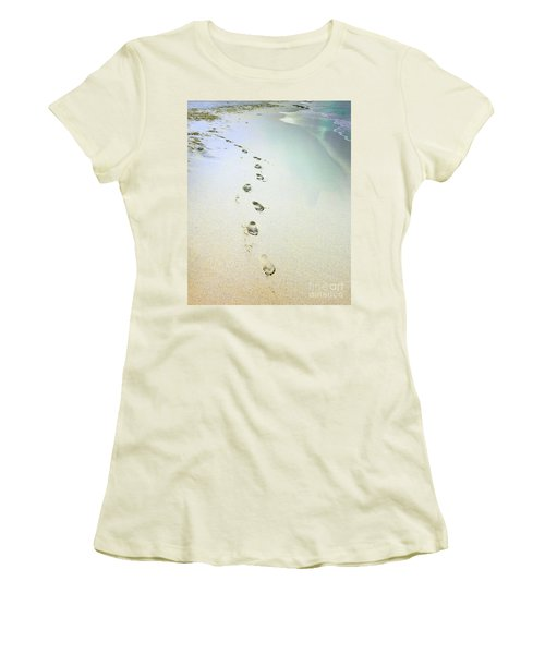 Sand Between My Toes Women's T-Shirt (Athletic Fit)