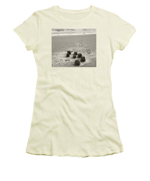 Sand Fun Women's T-Shirt (Athletic Fit)