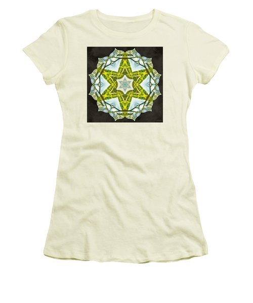 Women's T-Shirt (Athletic Fit) featuring the photograph Sandstar by Derek Gedney