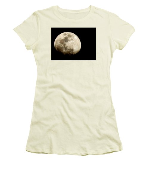 Satellite Serenade  Women's T-Shirt (Junior Cut) by Paulo Guimaraes