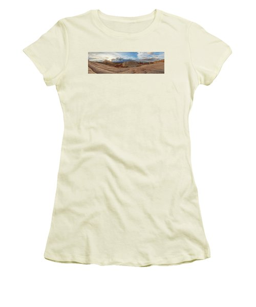 Women's T-Shirt (Junior Cut) featuring the photograph Savor The Solitude by Dustin LeFevre