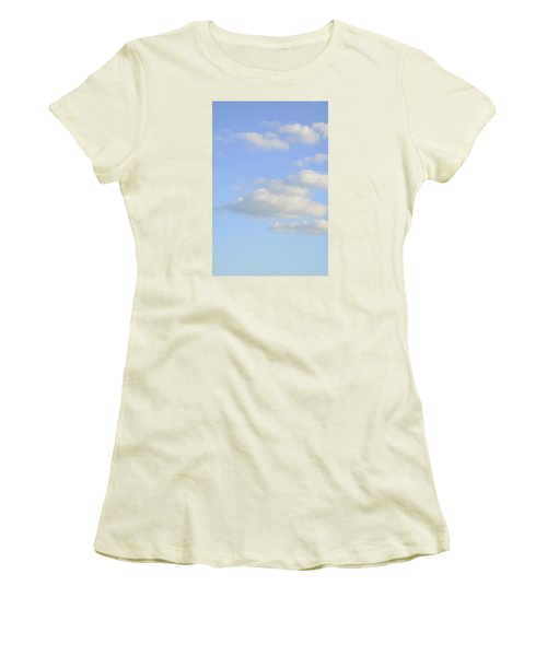 Women's T-Shirt (Athletic Fit) featuring the photograph Say Vertical by Wanda Krack