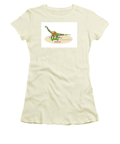 Schools Out For Dinosaurs Women's T-Shirt (Athletic Fit)
