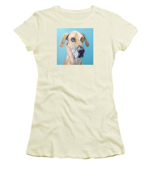 Scooby Women's T-Shirt (Junior Cut) by Nathan Rhoads
