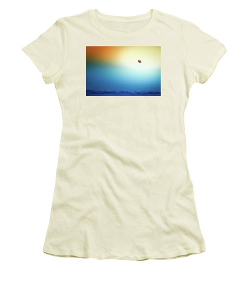 Sea Eagle On High Women's T-Shirt (Athletic Fit)