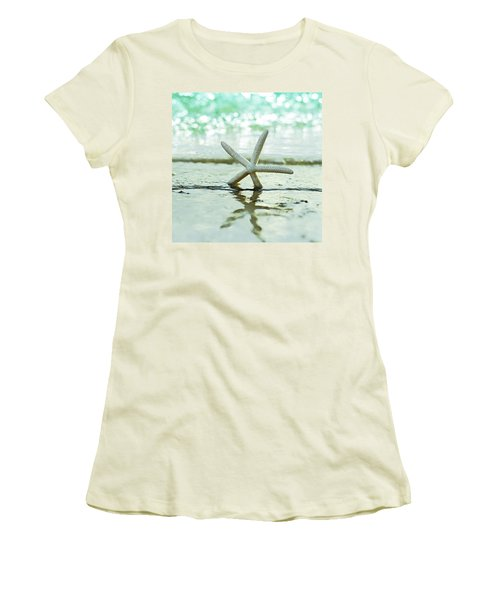 Sea Star Women's T-Shirt (Athletic Fit)